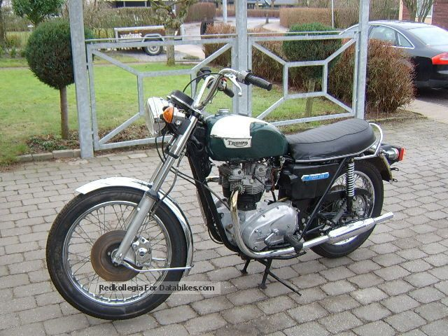 Triumph  Tiger 750 TR7V 1977 Vintage, Classic and Old Bikes photo