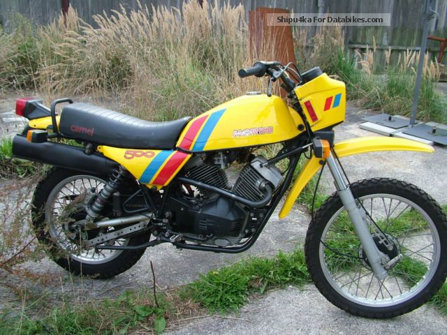 1982 Moto Morini  Camel 500 Motorcycle Enduro/Touring Enduro photo