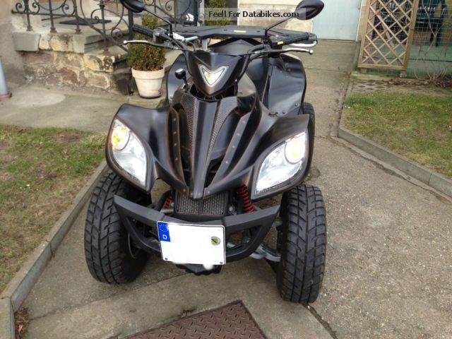 2008 Daelim  ET 250 Motorcycle Quad photo