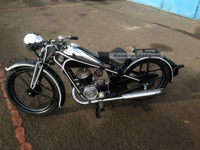 Jawa  CZ 175/1936 1936 Vintage, Classic and Old Bikes photo