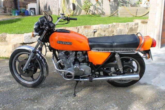 Suzuki  GS 500 E 1979 Vintage, Classic and Old Bikes photo