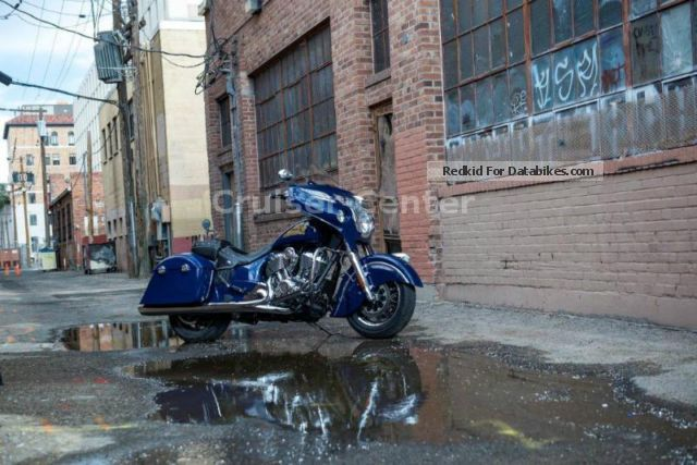 2014 Indian  Chieftain Springfield Blue ABS 2014 - Presenter Motorcycle Chopper/Cruiser photo