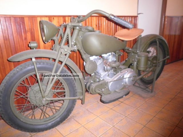 1941 Indian  Scout 741 B Motorcycle Chopper/Cruiser photo