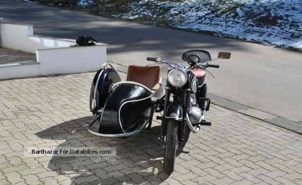 DKW  Rt 250 s with Steib 1956 Vintage, Classic and Old Bikes photo