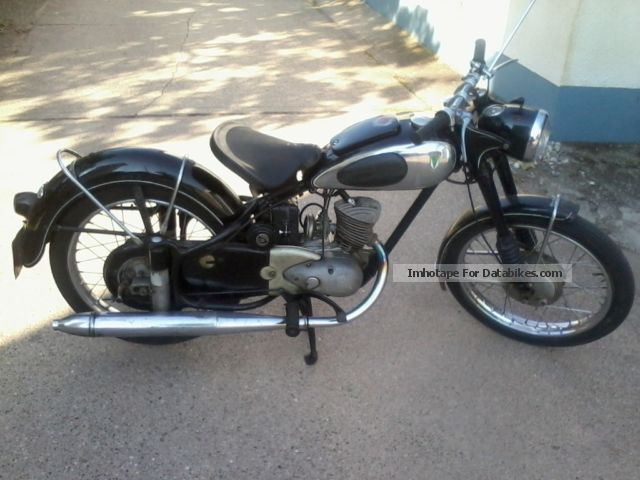 DKW  RT 125/2h 1955 Vintage, Classic and Old Bikes photo