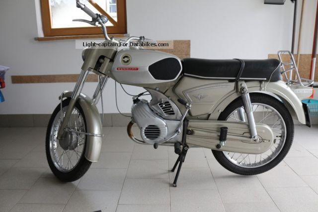 1968 Zundapp  Zündapp C50Sport Motorcycle Motor-assisted Bicycle/Small Moped photo