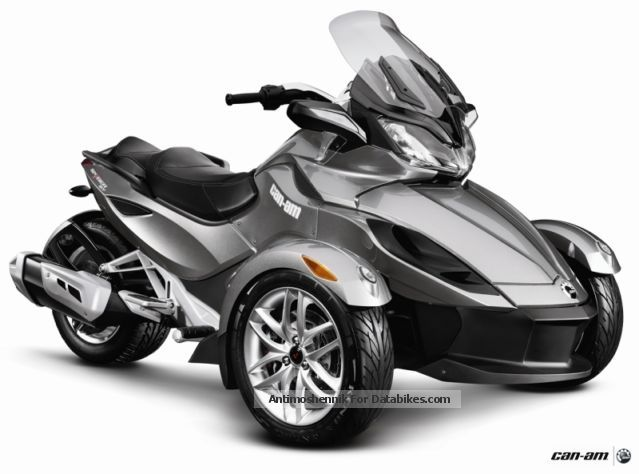 2012 Bombardier  BRP Can-Am Spyder SM5 ST + 4 years warranty Motorcycle Trike photo