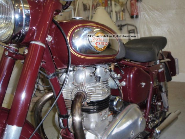 1955 Royal Enfield  Meteor Motorcycle Motorcycle photo