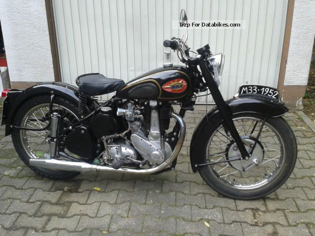 1952 BSA  500 M33 Motorcycle Motorcycle photo