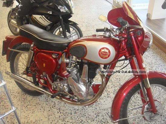 1957 BSA  350 Motorcycle Motorcycle photo
