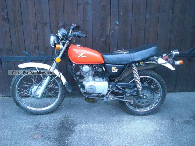 Honda  xl 125 1978 Vintage, Classic and Old Bikes photo