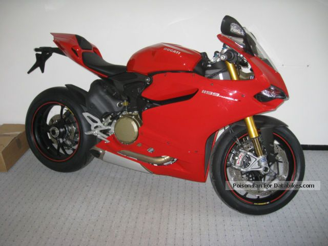 2014 Ducati  Panigale s Motorcycle Motorcycle photo