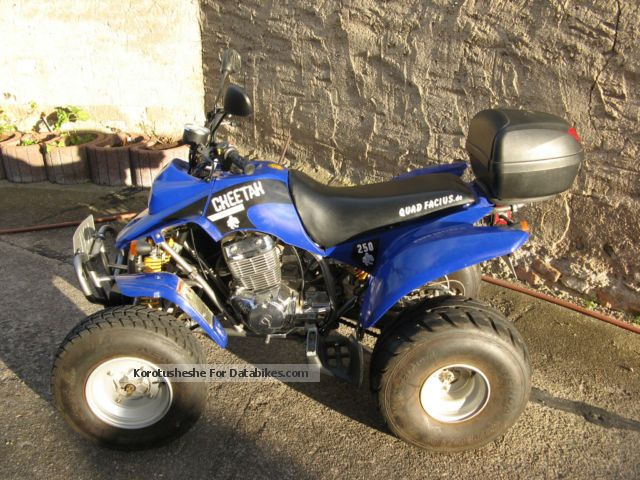2011 Barossa  cheetah 250 Motorcycle Quad photo