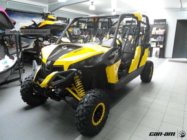 2012 Can Am  BRP Maverick MAX 1000 X rs with DPS Motorcycle Quad photo