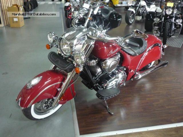 Indian  Chief Classic Custom 2014 Chopper/Cruiser photo