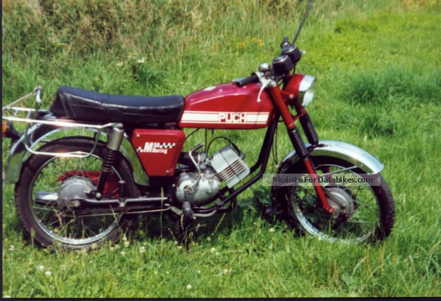 Puch  M50 Racing 1975 Vintage, Classic and Old Bikes photo
