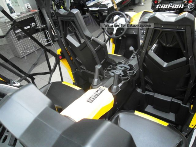 2012 Bombardier BRP Can-Am Maverick MAX 1000 X rs with DPS