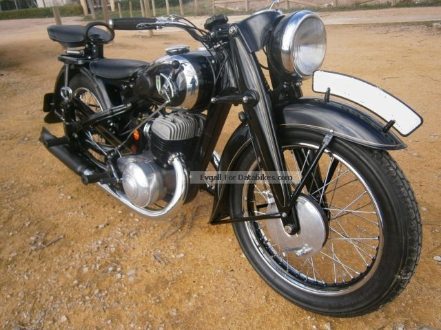 DKW  NZ 500 1941 Vintage, Classic and Old Bikes photo