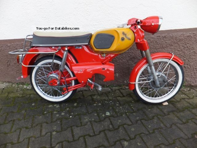 Kreidler  RS 50 (GT) 1967 Vintage, Classic and Old Bikes photo