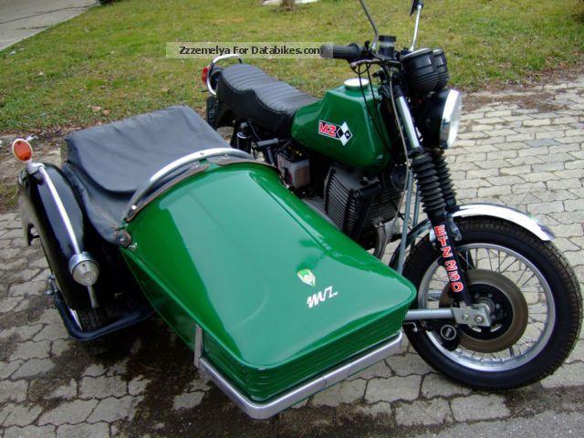 1985 Mz  MTS 820 Motorcycle Combination/Sidecar photo