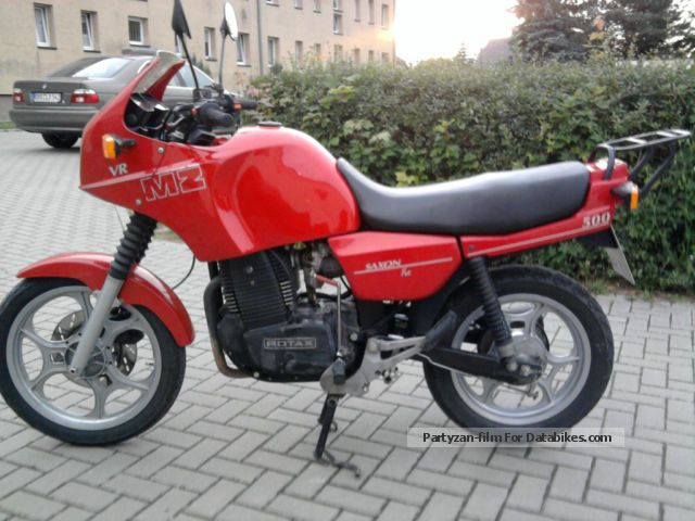 1992 Mz  Rotax 500 Motorcycle Motorcycle photo