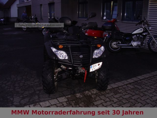 2011 CFMOTO  Explorer Grison 625 x6 4x4 Motorcycle Quad photo
