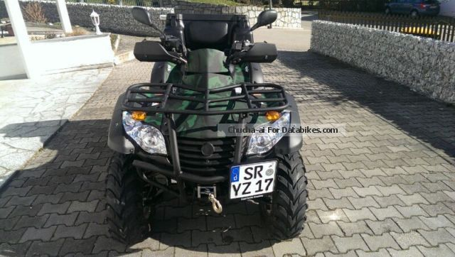 CFMOTO  Grison 625 EFI 4x4 2011 Quad photo