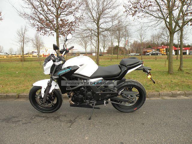 2012 CFMOTO  NK 650 Motorcycle Motorcycle photo