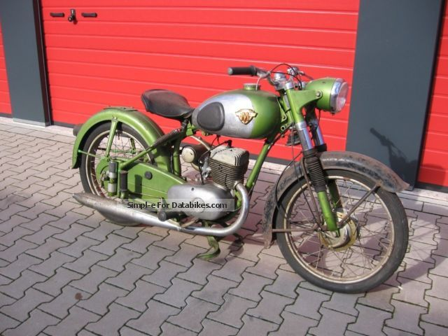 Maico  M 200 Passat - with papers - good basis 1956 Vintage, Classic and Old Bikes photo
