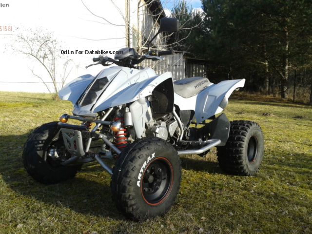 2008 Hyosung  450 TE QUAD 54 hp with LEO VINCE! Motorcycle Quad photo