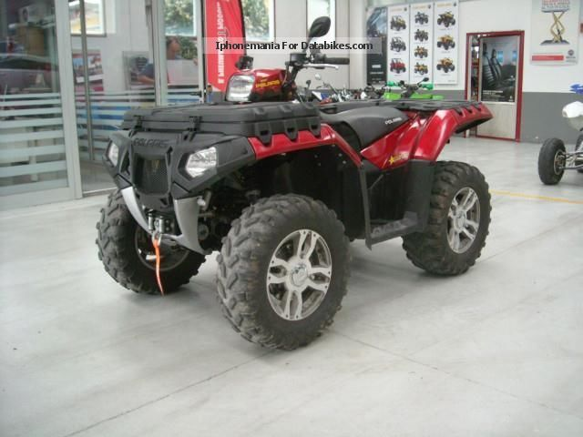 2009 Polaris  Sportman 850 EFI XP 4X4 EPS E Servosterzo VERRIC Motorcycle Quad photo