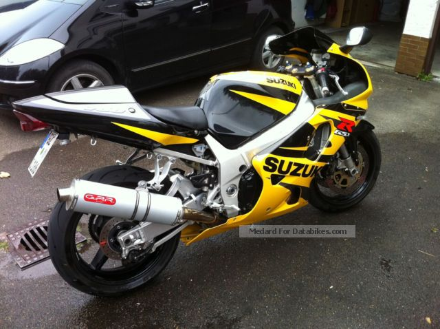 Suzuki  750 k2 2002 Sports/Super Sports Bike photo