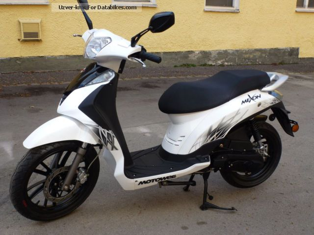 Motowell  Mexon 50 Großradroller 4 years warranty 2012 Scooter photo