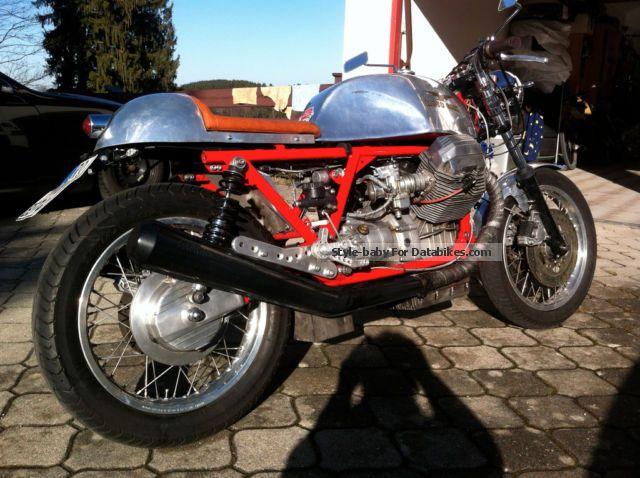 1980 Moto Guzzi  830 T3 conversion \ Motorcycle Motorcycle photo