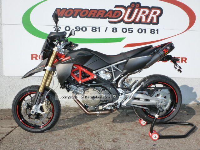 2012 Aprilia  Dorsoduro Factory 750 Akrapovic 0.0% Motorcycle Super Moto photo