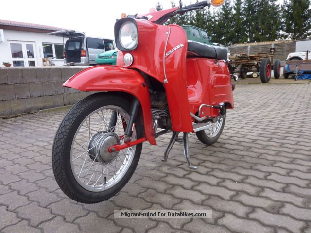 2013 Simson  Swallow Motorcycle Motor-assisted Bicycle/Small Moped photo