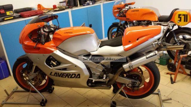 1999 laverda 750 s motorcycle racing photo