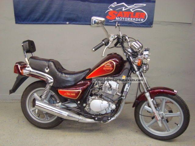 1996 Hyosung  Cruse 1 Motorcycle Chopper/Cruiser photo