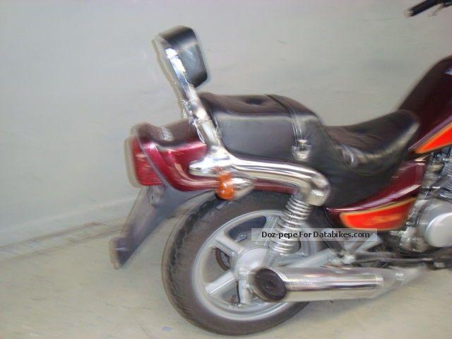 1996 hyosung cruse 1 motorcycle chopper cruiser photo 2