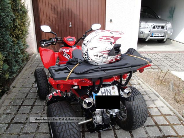2007 CPI  250 Motorcycle Quad photo