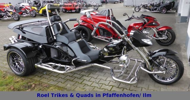 2012 Boom  Fighter X11 automatic with Racing brake Motorcycle Trike photo