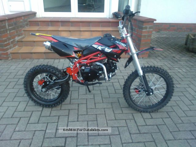 Pit bike 125cc norge