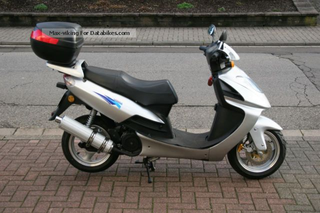 2008 Lifan  LF125T-6 Motorcycle Scooter photo