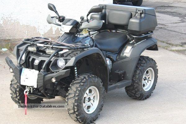 2012 Linhai  600 EFI incl.LOF approval-AHK VAT. ausweißbar Motorcycle Quad photo