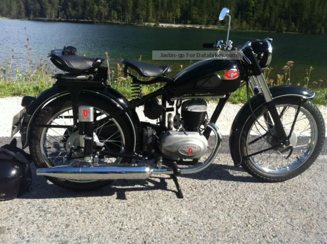 Zundapp  Zündapp Norma luxury DB 234 1954 Vintage, Classic and Old Bikes photo