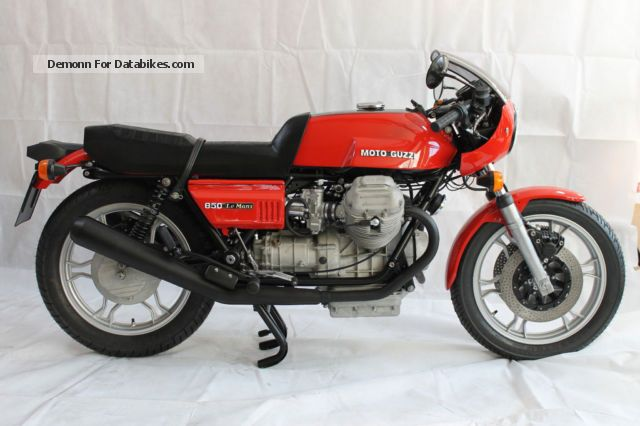 Moto Guzzi  Le Mans 1 1978 Vintage, Classic and Old Bikes photo