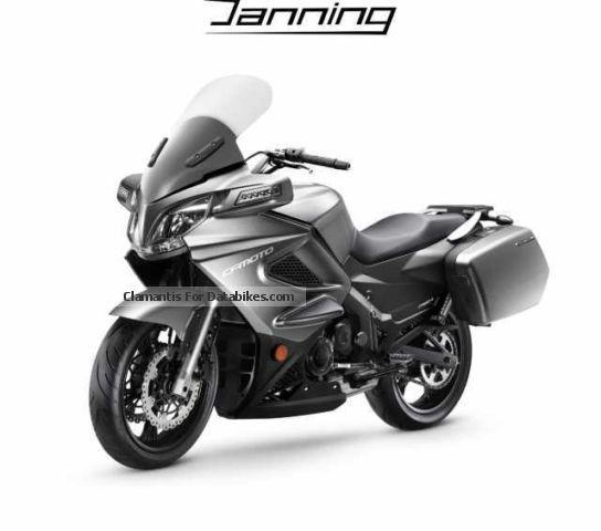 2012 CFMOTO  TK 650 Motorcycle Tourer photo