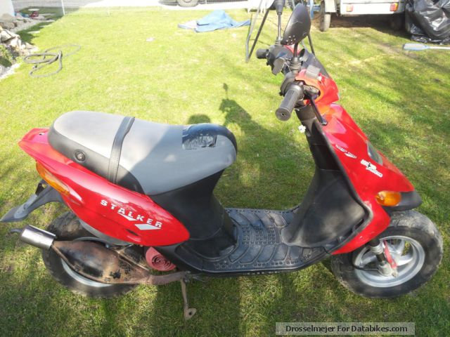 1998 gilera stalker moped approval 25 km h. Black Bedroom Furniture Sets. Home Design Ideas