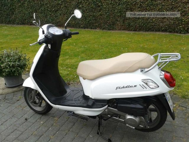 2013 SYM  Fiddle 125, 1 Hand, guarantee, absolutely mint condition Motorcycle Scooter photo