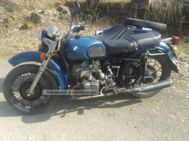 1986 Ural  Dnepr MT16 BMW R45 Motorcycle Combination/Sidecar photo
